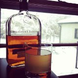 "10"" of snow in one day requires bourbon!"